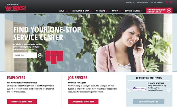 responsive website design mi works!