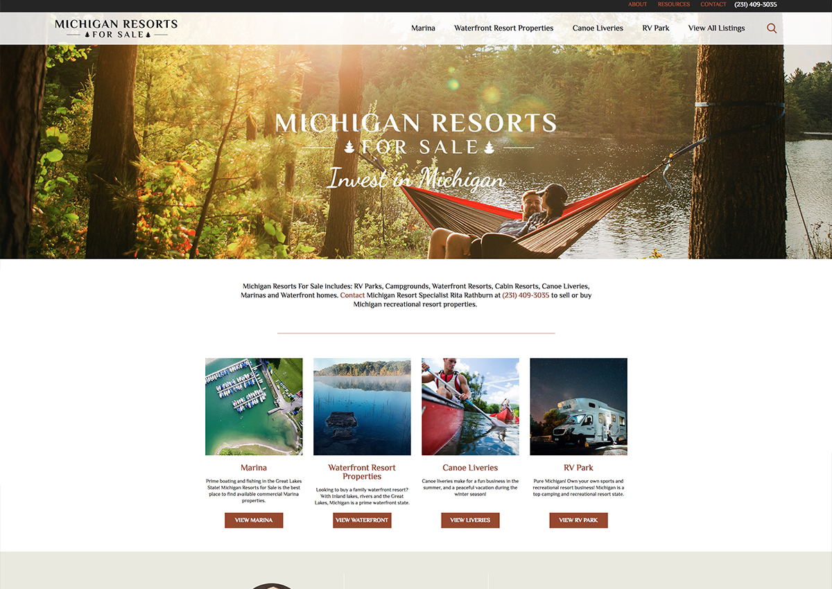 Michigan Resorts For Sale