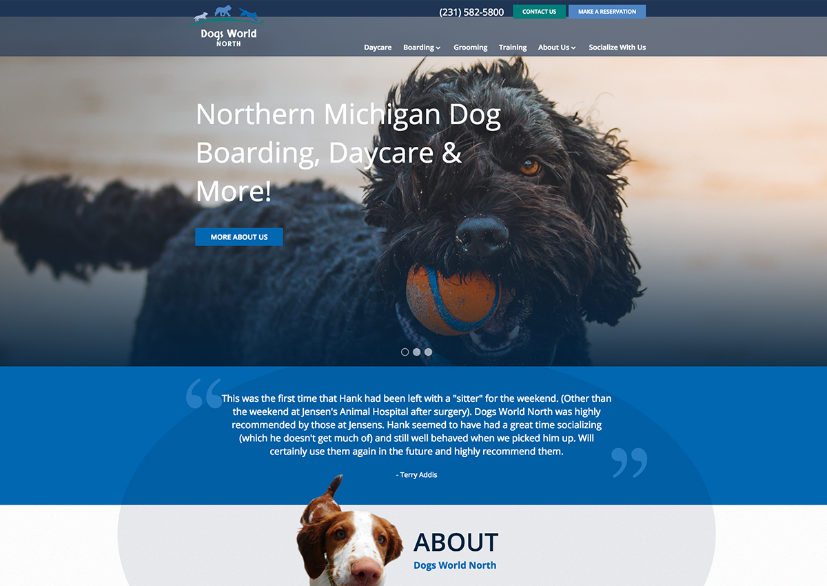 Dogs World North Website