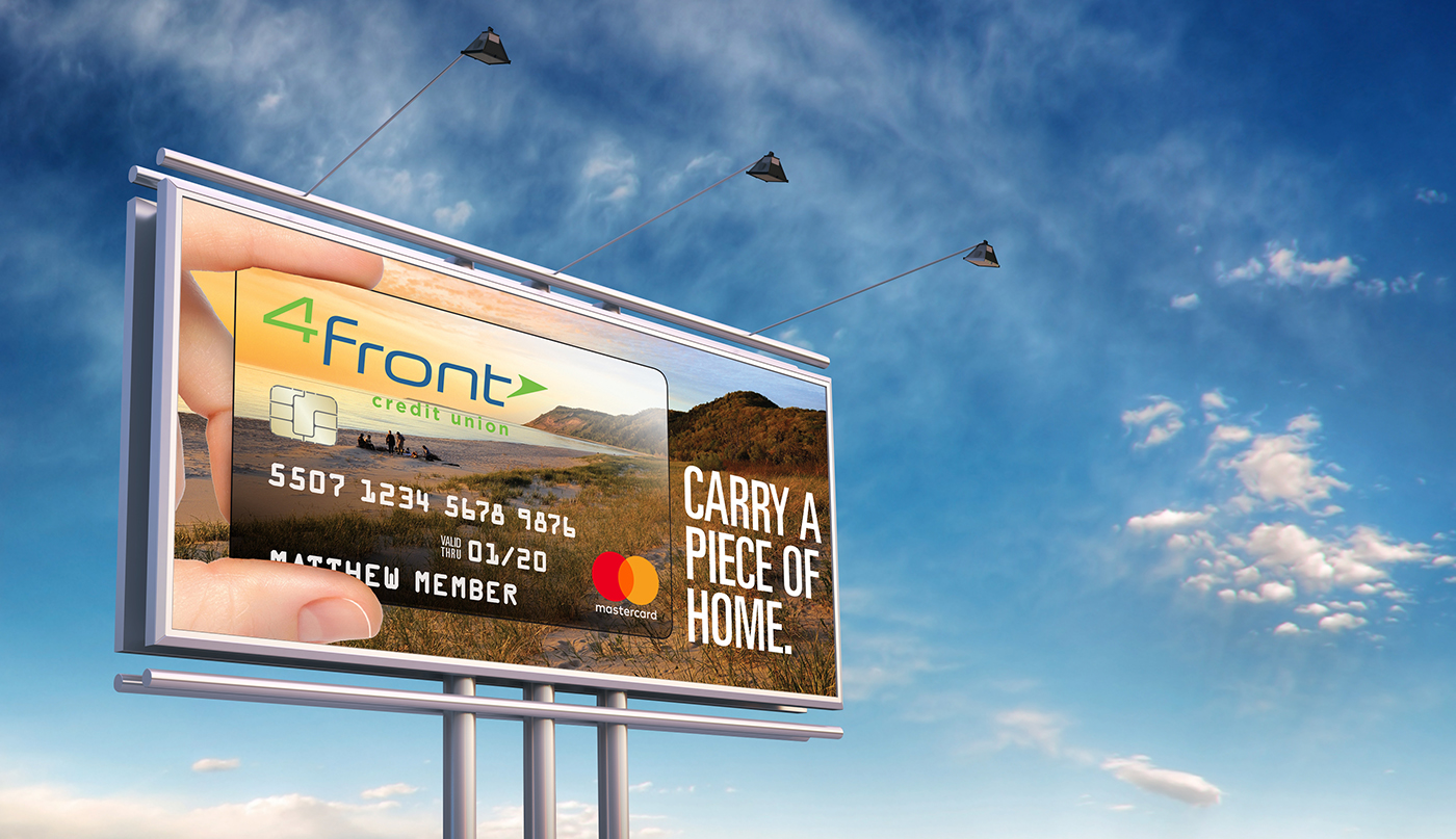 4Front Credit Union Billboards
