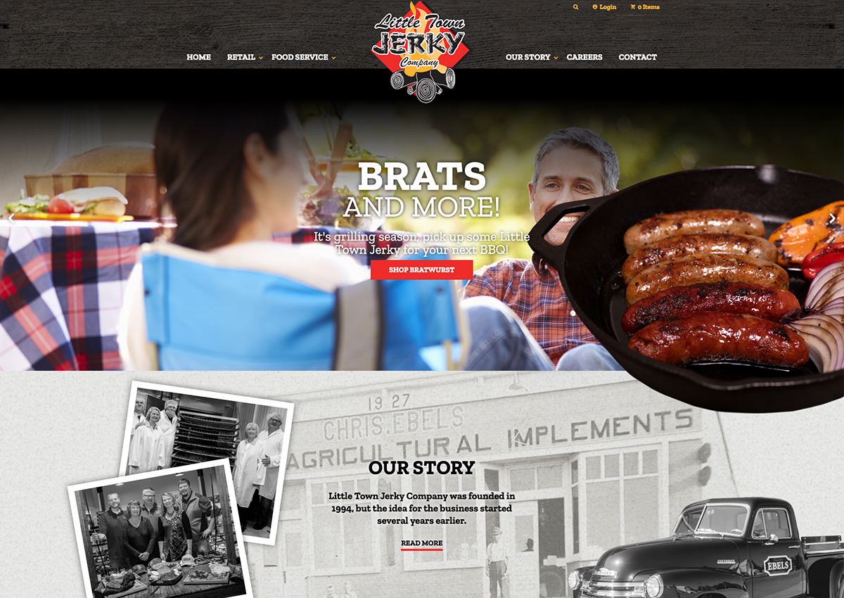 Little Town Jerky Site